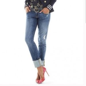 CAbi #5165 Mojave Slim Boyfriend Jeans size 6